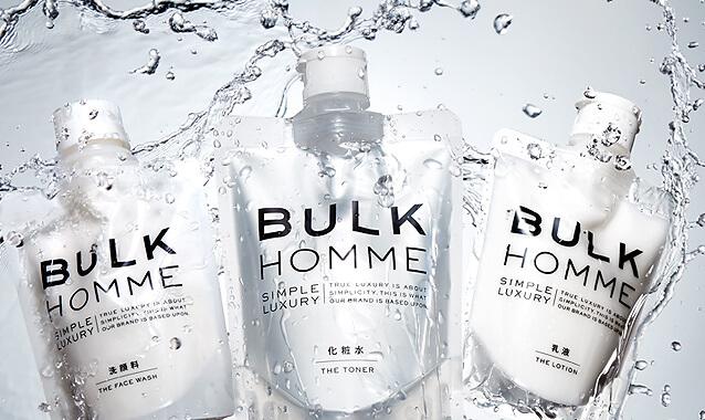 話題沸騰の男性化粧品 メンズコスメBULK HOMME